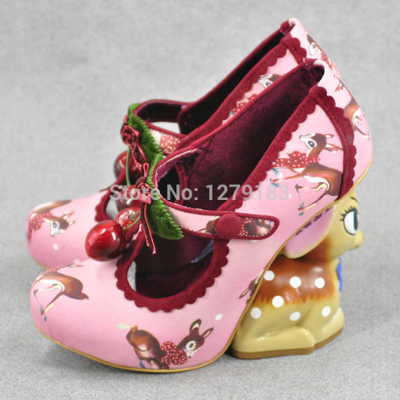 2014-new-fashin-alternative-cute-deer-special-heel-animals-heel-high-heel-shoes
