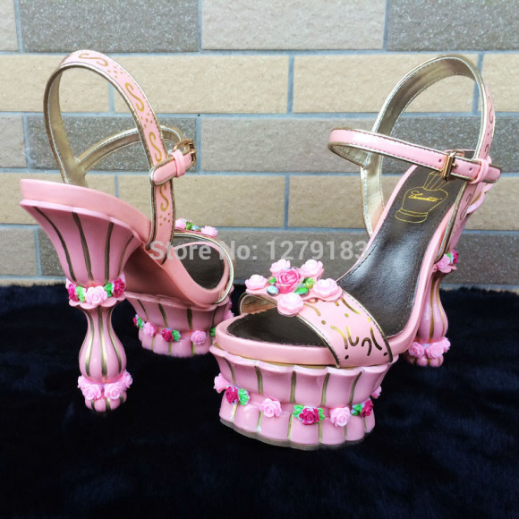 2014-new-fashion-sweety-dimensional-roses-flower-pot-cake-princess-shoes-high-heeled-sandals-party-shoes