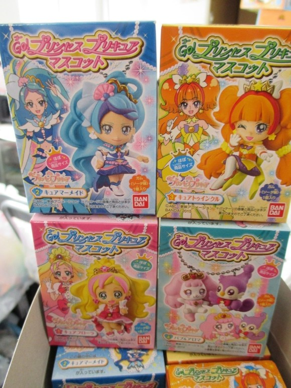 Go! Princess PreCure Mascot Mini Figure