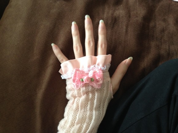 DIY Himegyaru Gloves - Final