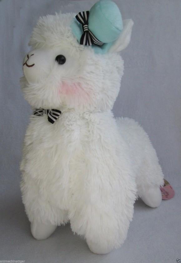Majestic Alpaca with Hat