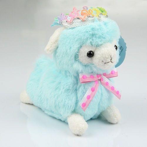 Precious Small Alpaca with Crown