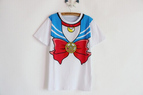 Kawaii-Sailor-Moon-T-shirt-sailor-collar-printed-Japanese-cosplay-tee-girls
