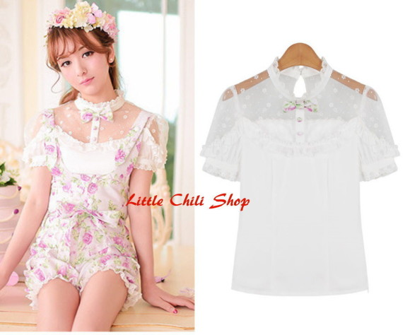 kawaiiblouse_white