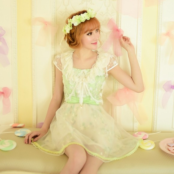 Candy-rain-Princess-sweet-lolita-tippet-Japanese-style-sweet-falbala-Brief-paragraph-lace-Prevent-bask-in