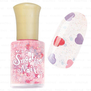 Smoothie Nail pink hearts