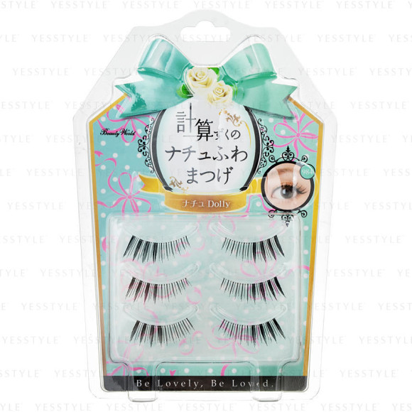 minty princess wing tip flick lashes
