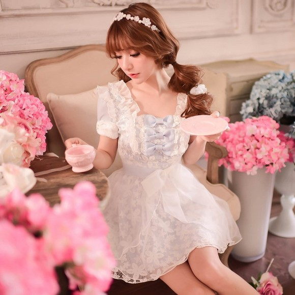Princess-sweet-lolita-dress-Candy-rain-Summer-sweet-falbala-bow-chiffon-princess-dress-WL111