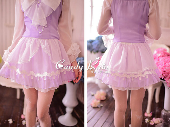 Soft & Lovely Lavender Tops, Skirts, and Dresses for Pretty Princesses (1)