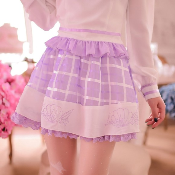 Soft & Lovely Lavender Tops, Skirts, and Dresses for Pretty Princesses (3)