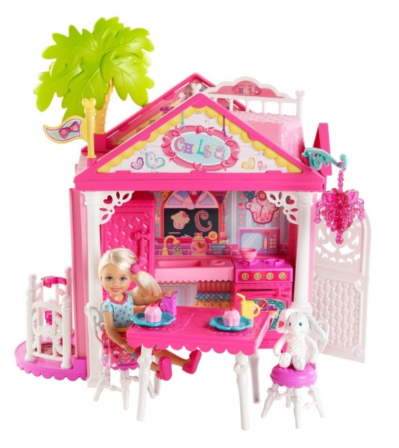 Cute & Pretty Barbie Playsets & Doll Houses (2)