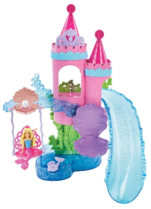 Cute & Pretty Barbie Playsets & Doll Houses (3)