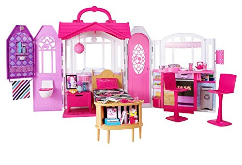 Cute & Pretty Barbie Playsets & Doll Houses (4)
