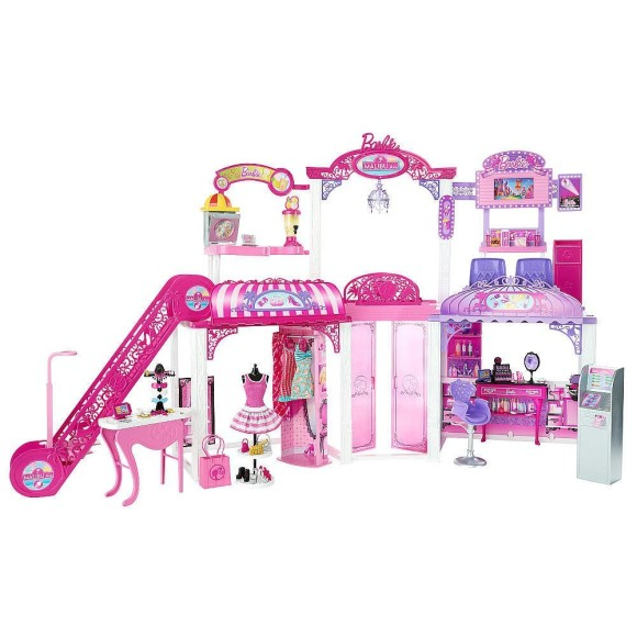 Cute & Pretty Barbie Playsets & Doll Houses (5)