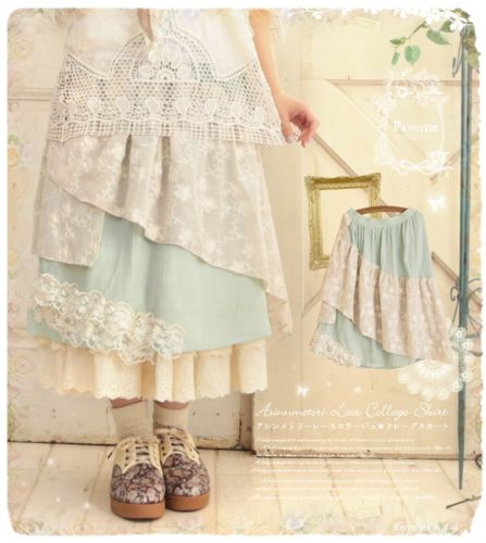 Soft Sweet Beautiful Mori Girl Dresses on Ebay (2)