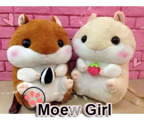 kawaii plush kitty bunny bags purses (4)