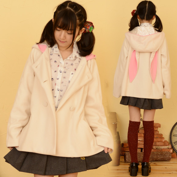 Kawaii Mori Girl and Casual Jackets for Autumn and Winter (1)