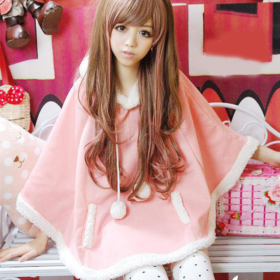 Kawaii Mori Girl and Casual Jackets for Autumn and Winter (2)