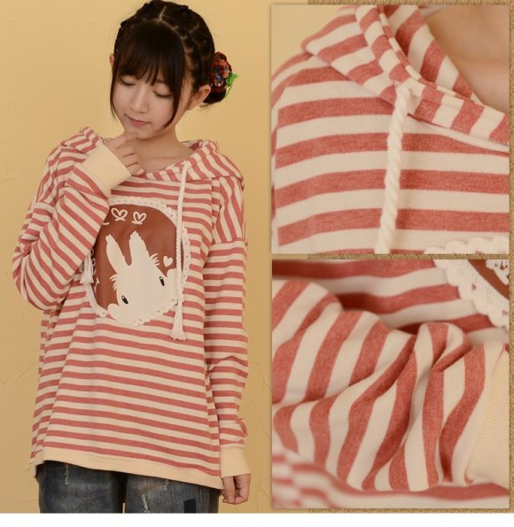Kawaii Mori Girl and Casual Jackets for Autumn and Winter (4)