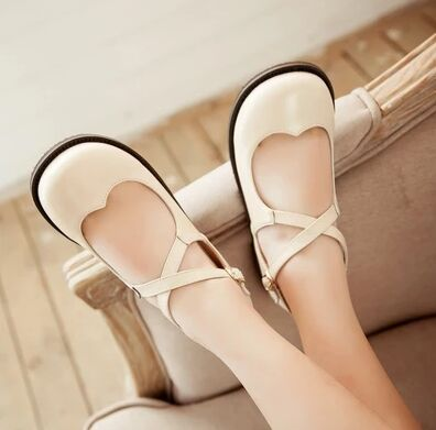Simply Sweet Casual Lolita Shoes (1)