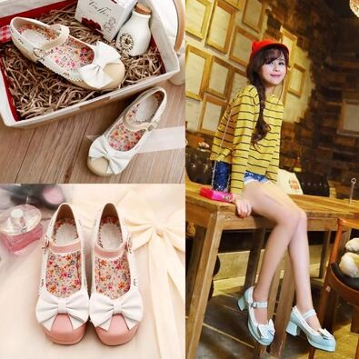 Simply Sweet Casual Lolita Shoes (4)