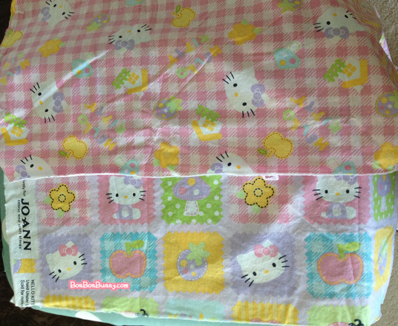 hello kitty fairy kei skirt sewing tutorial (1)