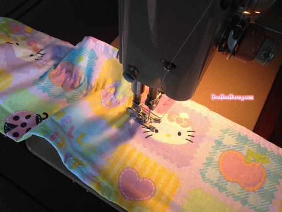 hello kitty fairy kei skirt sewing tutorial (10)