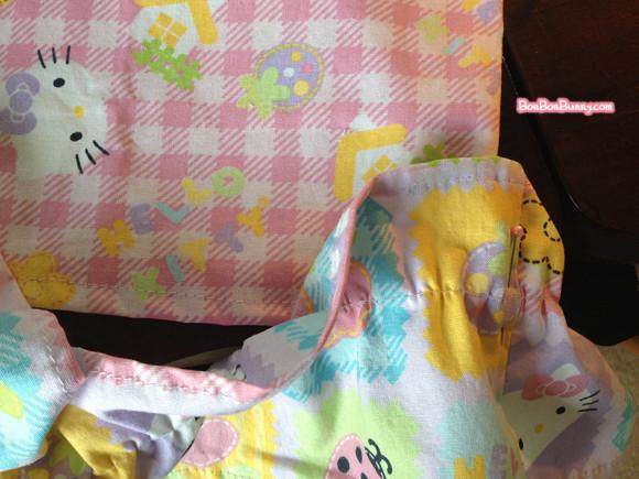hello kitty fairy kei skirt sewing tutorial (11)