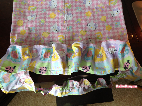 hello kitty fairy kei skirt sewing tutorial (12)