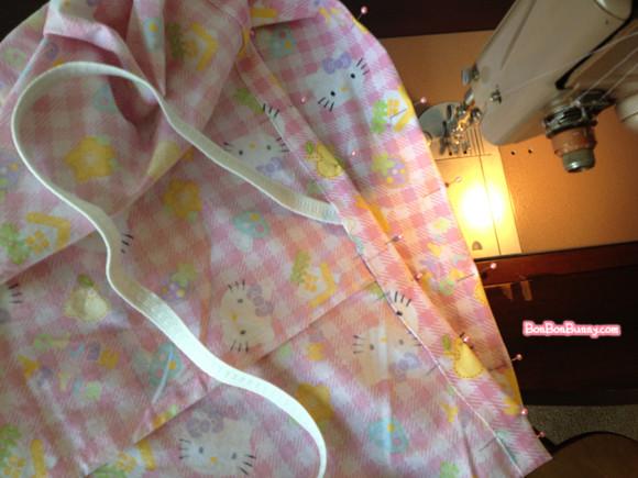 hello kitty fairy kei skirt sewing tutorial (20)