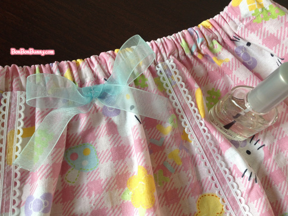 hello kitty fairy kei skirt sewing tutorial (24)