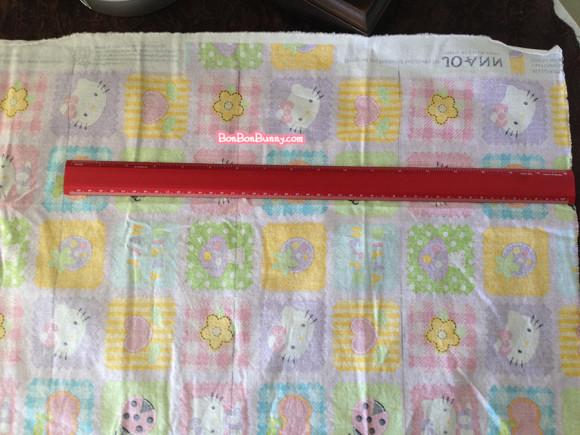 hello kitty fairy kei skirt sewing tutorial (3)