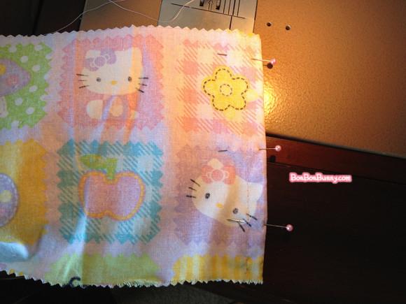hello kitty fairy kei skirt sewing tutorial (7)