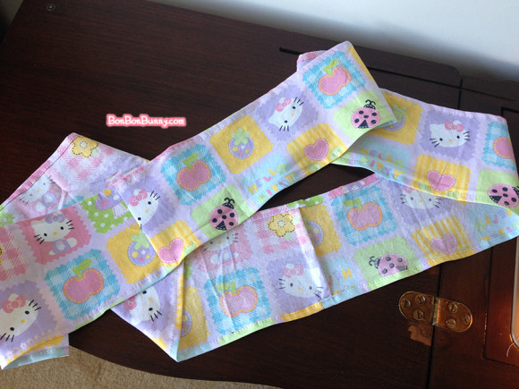 hello kitty fairy kei skirt sewing tutorial (8)