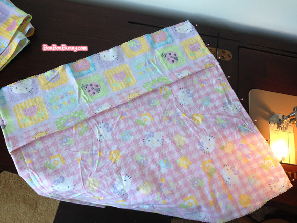 hello kitty fairy kei skirt sewing tutorial (9)