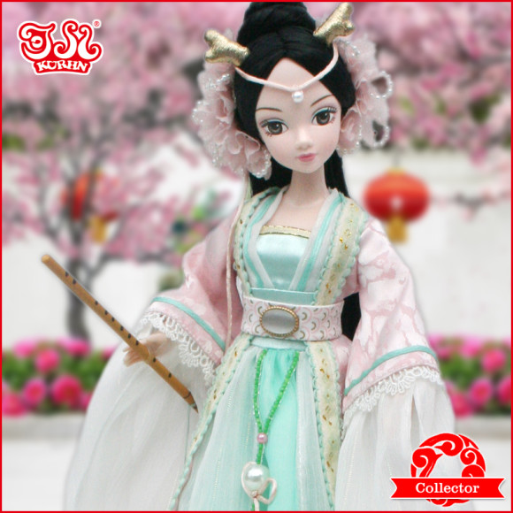 Beautiful Collector's Chinese Princess Fairy Kurhn Dolls (1)