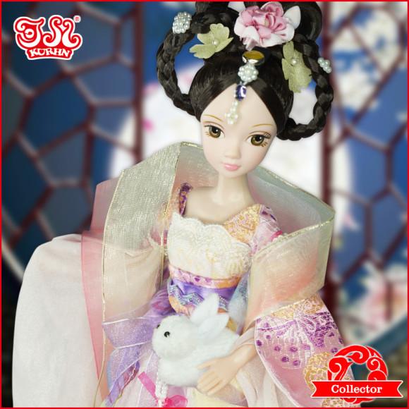 Beautiful Collector's Chinese Princess Fairy Kurhn Dolls (2)