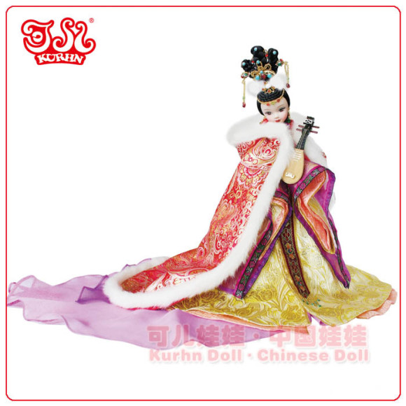 Beautiful Collector's Chinese Princess Fairy Kurhn Dolls (3)