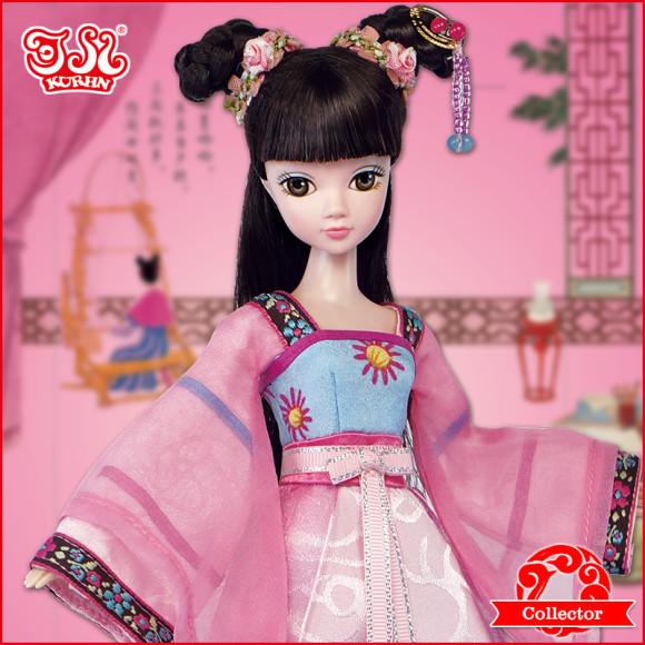 Beautiful Collector's Chinese Princess Fairy Kurhn Dolls (4)