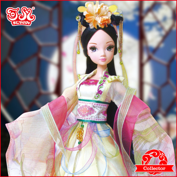 Beautiful Collector's Chinese Princess Fairy Kurhn Dolls (5)