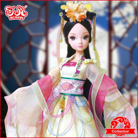 Beautiful Collector's Chinese Princess Fairy Kurhn Dolls (5)