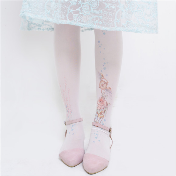 Cute, Elegant, and Pretty Printed Tights and Stockings (4)
