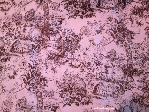 Himekaji Pink Bunny Toile Skirt (1)