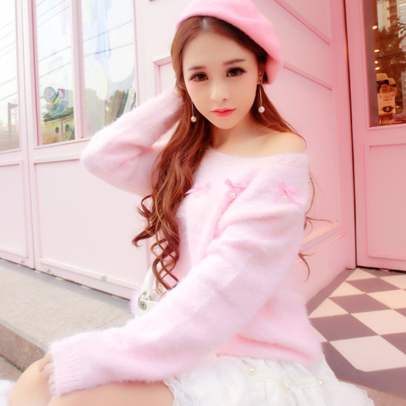 Pretty Pink Sweaters for Princesses! (1)