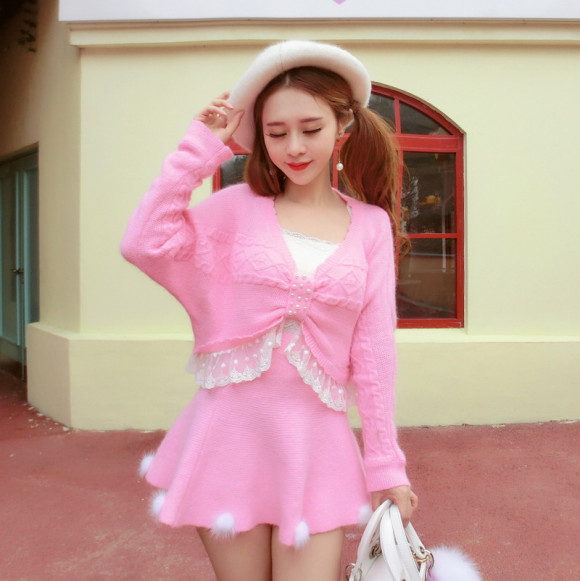 Pretty Pink Sweaters for Princesses! (2)