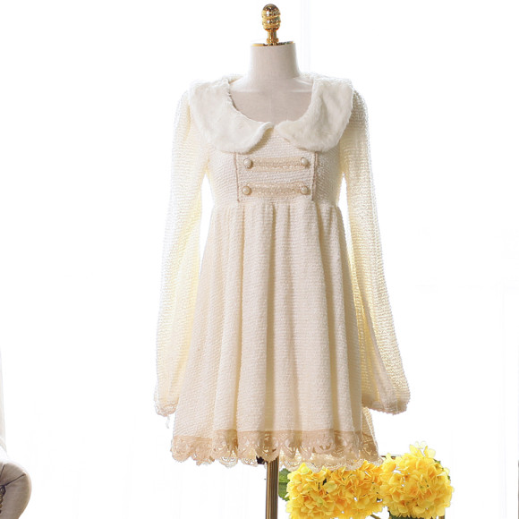 Pretty White Winter Dresses for Snow Princesses (2)