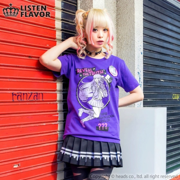 Check Out These Awesome Dangan Ronpa T-Shirts Suitable for Kawaii Style (2)