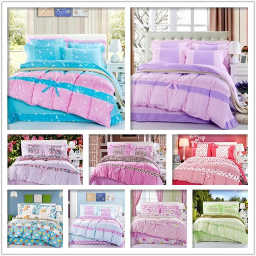 Pastel Princess Bed Sets (1)