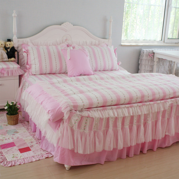 Pastel Princess Bed Sets (3)