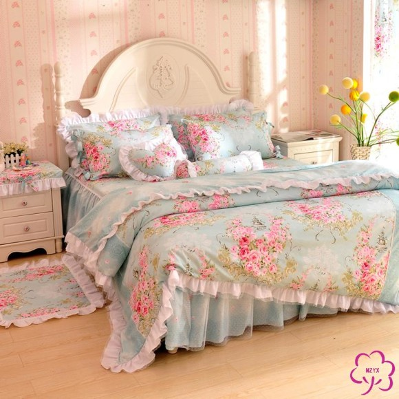 Pastel Princess Bed Sets (4)